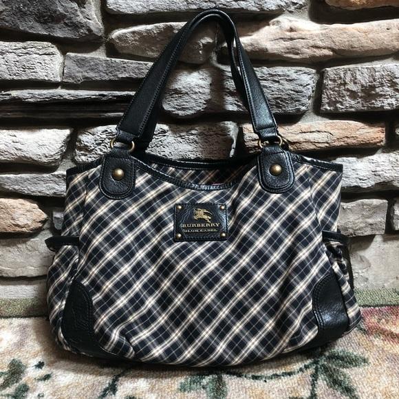 Burberry Handbags - Burberry Blue Label Shoulder Tote Bag 19d33e2bc23f6